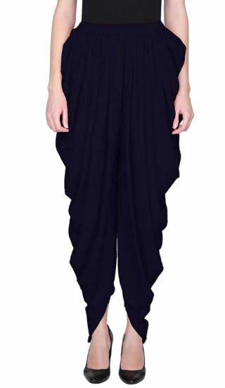 dhoti black yoga pants